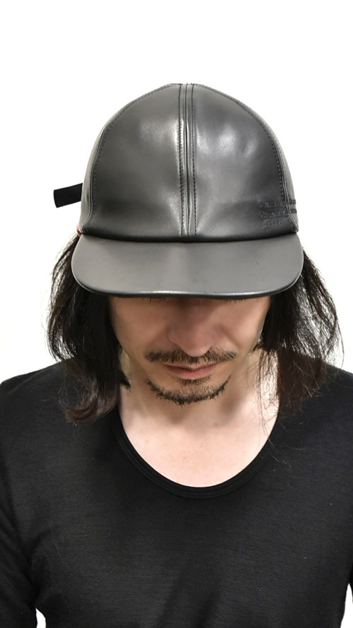 JULIUS  Leather Cap 通販 GORDINI001