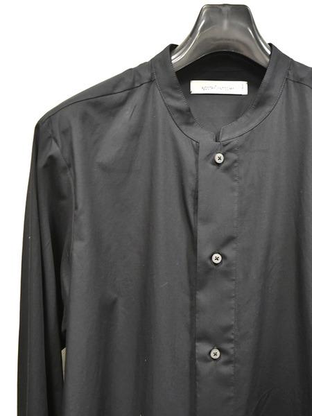 Nostrasantissima long shirts blk 通販 GORDINI002