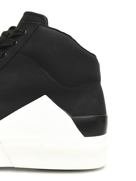 JULIUS スニーカー 黒白 通販 GORDINI010