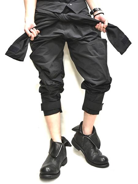 JULIUS Jumpsuit pants black 着用 通販 GORDINI009