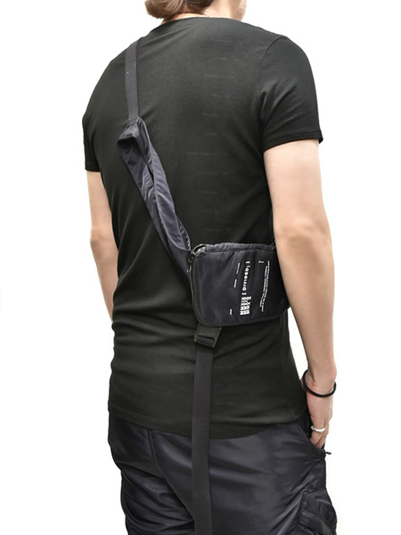 JULIUS holster vest black 通販 GORDINI005