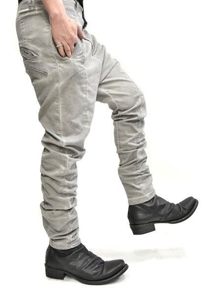 ARMY crotch pants beige 通販 GORDINI014