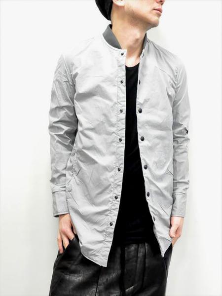 ripvanwinkle ボンディングロングシャツ 通販 GORDINI008