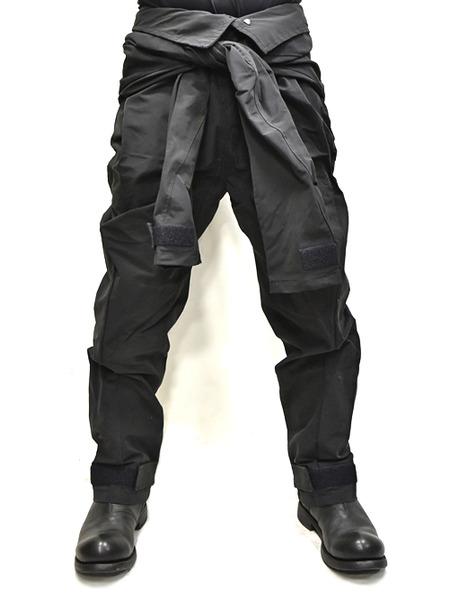 JULIUS Jumpsuit pants black 着用 通販 GORDINI001