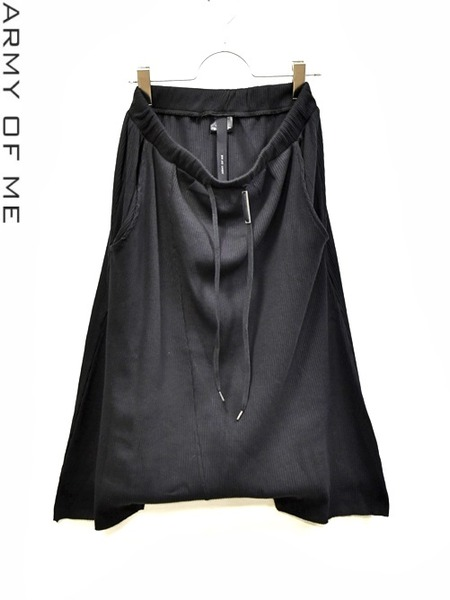 ARMYOFME rib shorts 通販 GORDINI001