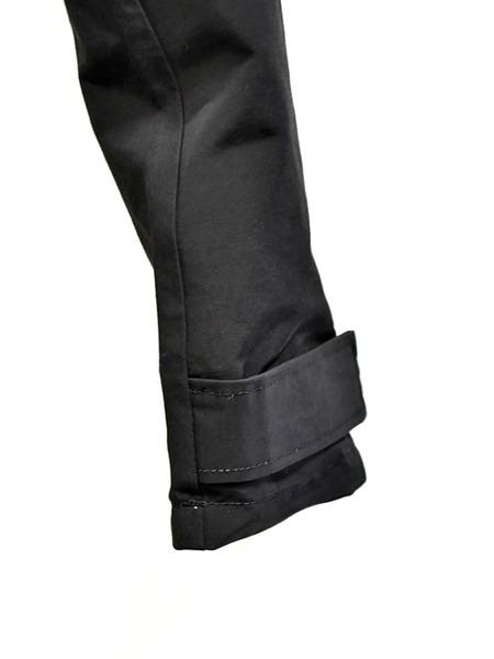JULIUS sleeve pants black 通販 GORDINI005
