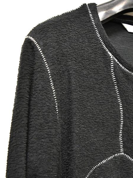 IROFUSI 罅割カットソー BLACK 通販 GORDINI005