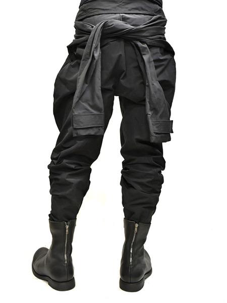 JULIUS Jumpsuit pants black 着用 通販 GORDINI012
