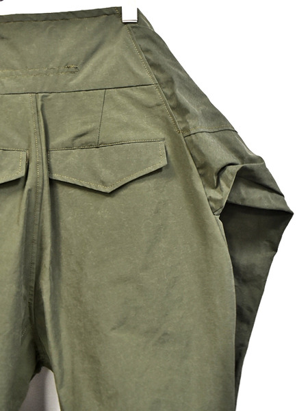 JULIUS sleeve pants khaki 通販 GORDINI009