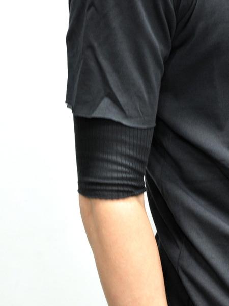 ARMY OF ME WレイヤードコットンTシャツ 通販 GORDINI007