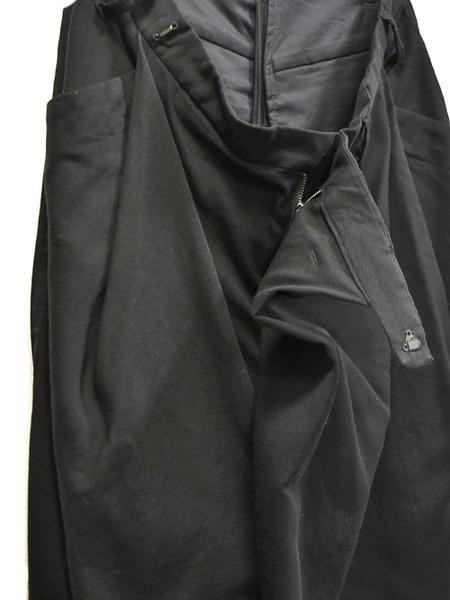 JULIUS wrap baggy trousers 通販 GORDINI003