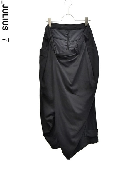 JULIUS wrap baggy trousers 通販 GORDINI001