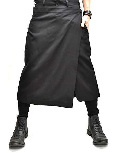 JULIUS Attached Skirt Trousers 通販 GORDINI010