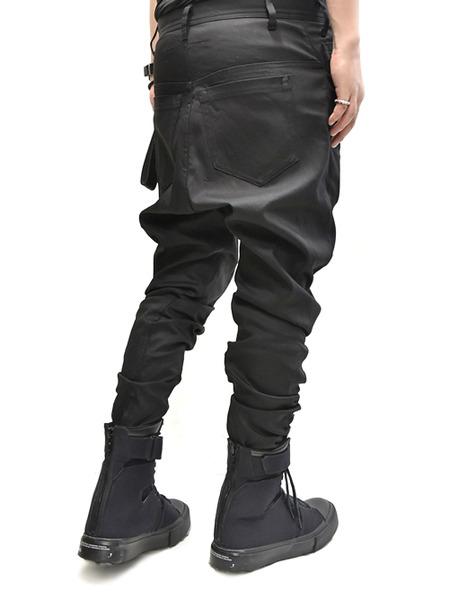 JULIUS crotch pants 着用 通販 GORDINI006