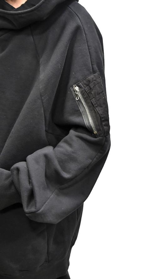 JULIUS MA-1 Style Hoodie 通販 GORDINI009