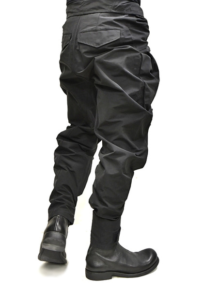 JULIUS Jumpsuit pants black 着用 通販 GORDINI008