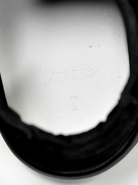 JULIUS スニーカー レザー黒 通販 GORDINI013
