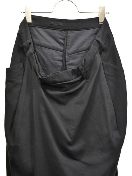 JULIUS wrap baggy trousers 通販 GORDINI002