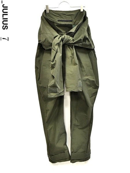 JULIUS sleeve pants khaki 通販 GORDINI007