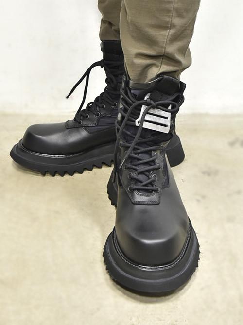 JULIUS Combat Boots 着用 通販 GORDINI004