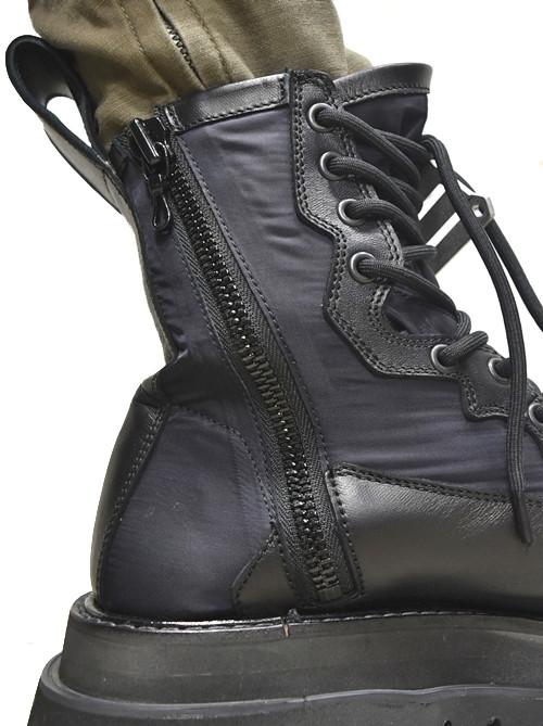 JULIUS Combat Boots 着用 通販 GORDINI007