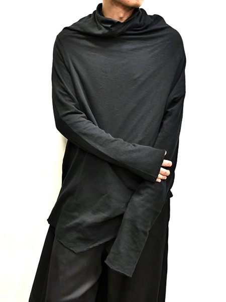 JULIUS Draping Neck Cut&Sewn 通販 GORDINI007