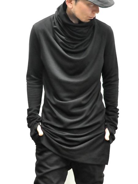 JULIUS ボリュームネック black 通販 GORDINI015