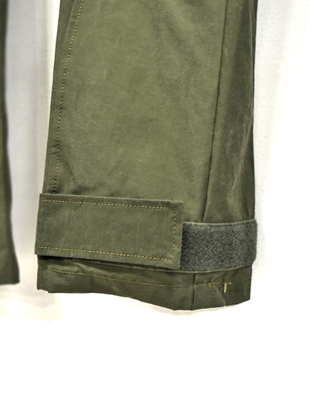 JULIUS sleeve pants khaki 通販 GORDINI004
