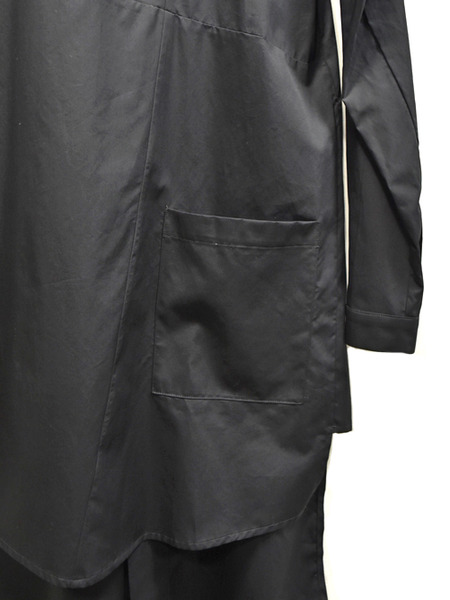 Nostrasantissima long shirts blk 通販 GORDINI007
