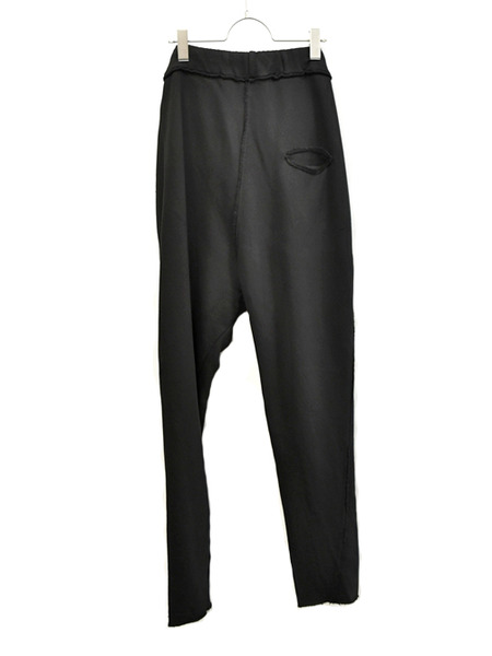 primordial crotch pants black 通販 GORDINI004