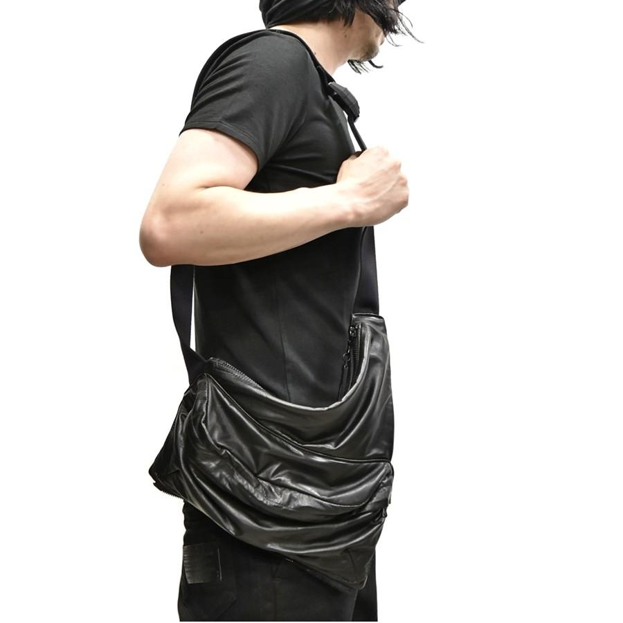 JULIUS bodybag leather 通販 GORDINI004