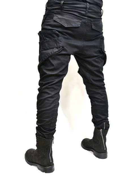 JULIUS ガスマスクパンツ 黒 通販 GORDINI005