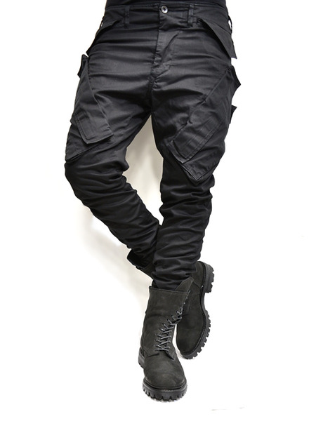 JULIUS ガスマスクパンツ 黒 通販 GORDINI008