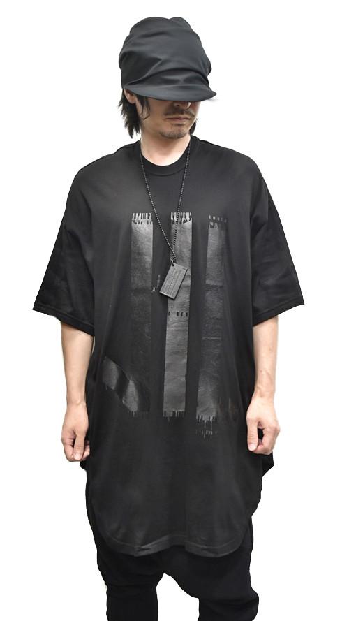 NILS Kamon Round T BLACK 通販 GORDINI001