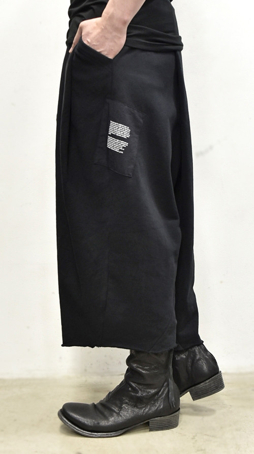 JULIUS Folded Baggy Pants 通販 GORDINI003