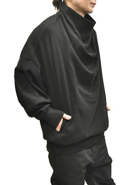 JULIUS cwl neck black 着用 通販 GORDINI002