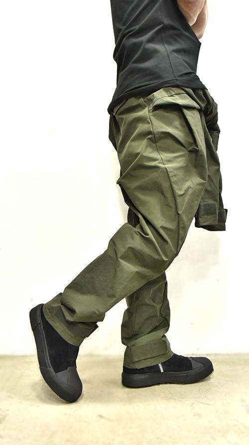 JULIUS Sleeve Baggy Pants 通販 GORDINI003