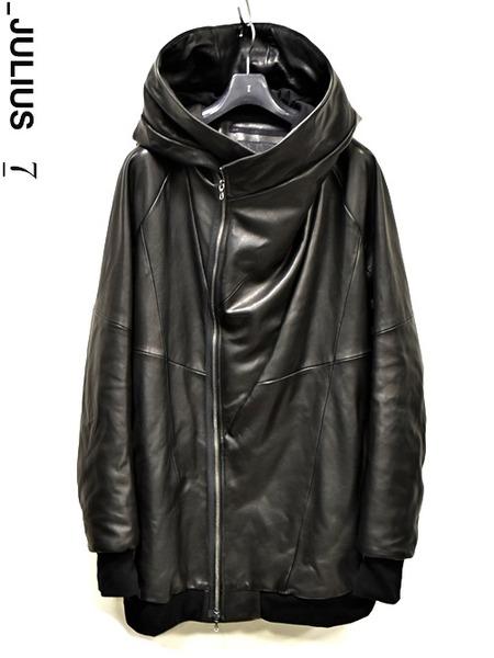 JULIUS leather parka 通販 GORDINI001