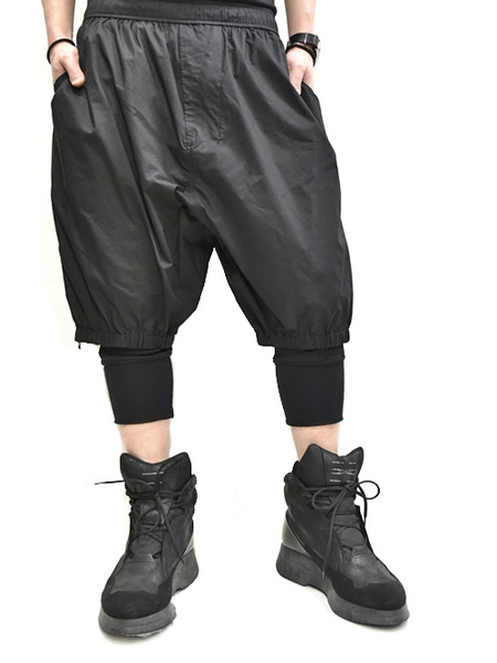 Nils gather pants 通販 GORDINI008