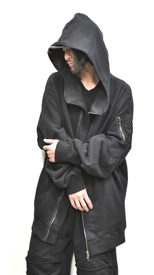 JULIUS MA-1 Style Hoodie 通販 GORDINI005