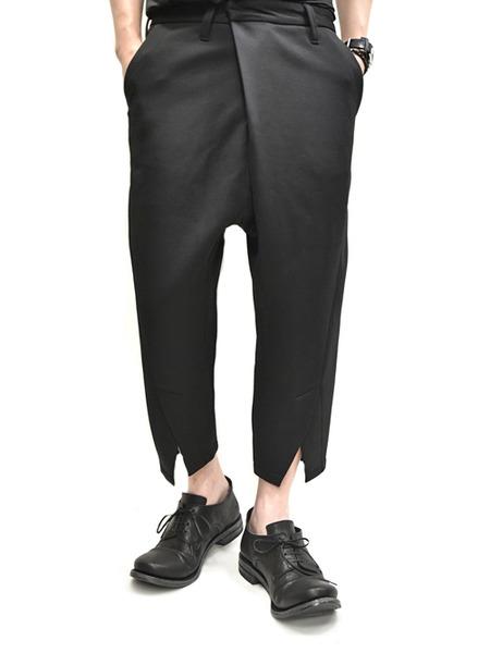 JULIUS tucked slit pants  通販 GORDINI009