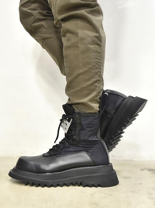 JULIUS Combat Boots 着用 通販 GORDINI002