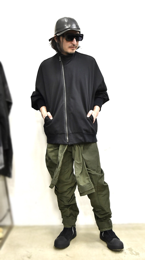 JULIUS Sleeve Baggy Pants 通販 GORDINI009