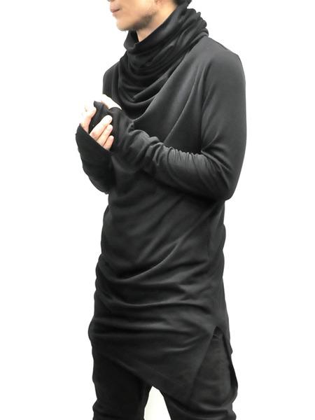 JULIUS ボリュームネック black 通販 GORDINI016