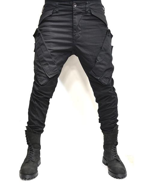 JULIUS ガスマスクパンツ 黒 通販 GORDINI002