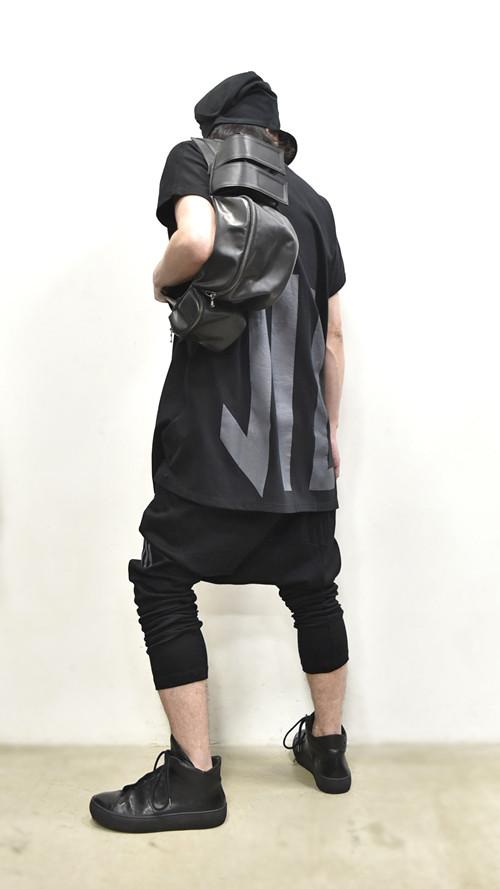 """NILøS Back """"家紋"""" T-Shirt 着用 通販 GORDINI009"""