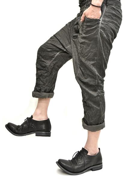 Nostrasantissima drop crotch pants通販 GORDINI007