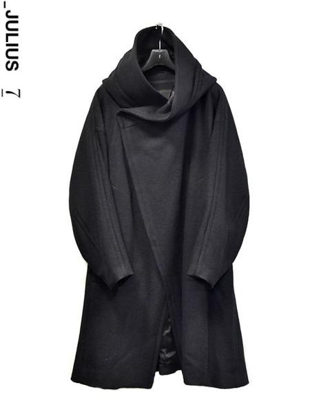 JULIUS hooded coat 通販 GORDINI001 insta coorde
