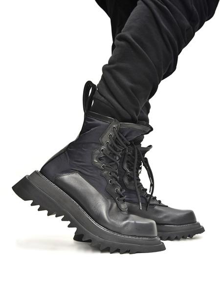 JULIUS military boots  着用 通販 GORDINI002