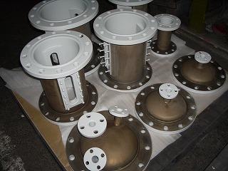 導電性フッ素樹脂コーティング完成品